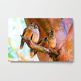 Morning Chorus Metal Print