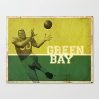 packers Canvas Prints featuring Green Bay, Wisconsin by Project Wisconsin