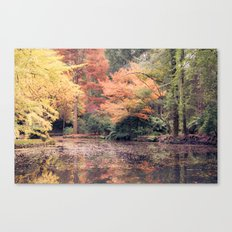 Autumn in Melbourne Canvas Print