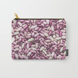 Shiny white and purple cool beans Carry-All Pouch