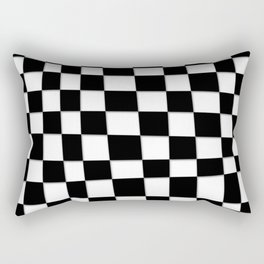 Checked Out Rectangular Pillow