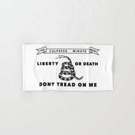 Historic Culpeper Minutemen flag Hand & Bath Towel