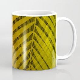 TROPICAL LEAVES GREEN MOCCA no2 Coffee Mug