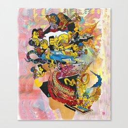 Bartsploitation Canvas Print