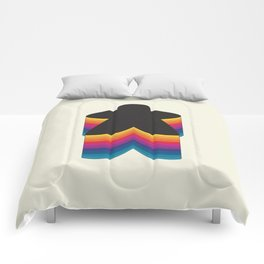Meeple Color Stack Comforters