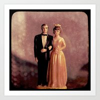 wedding Art Prints featuring Wedding by ZenzPhotography