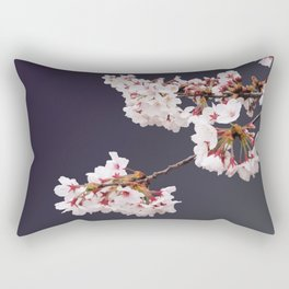 Cherry Blossoms (illustration) Rectangular Pillow