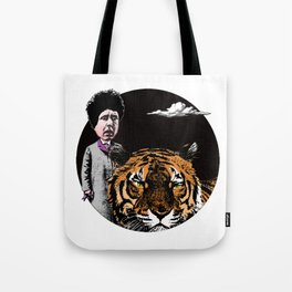 Lecture of the crime Tote Bag