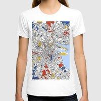 dublin T-shirts featuring Dublin by Mondrian Maps