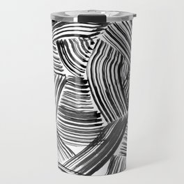 Tangled Brushstrokes Travel Mug