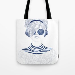 Groove Baby Tote Bag