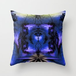 Mandala - for the right path Throw Pillow