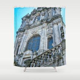 Iglesia De Los Clerigos Shower Curtain