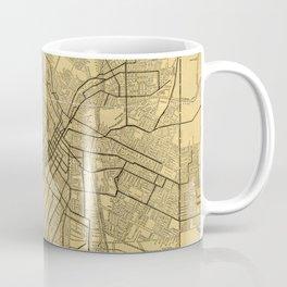 Vintage Map of Los Angeles CA (1914) Coffee Mug