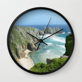 Cornish Adventure Wall Clock
