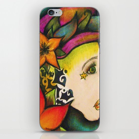 Nicole (Flower) iPhone & iPod Skin