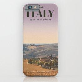 Visit Italy iPhone Case