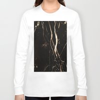 marble Long Sleeve T-shirts featuring Marble by NSuleyman