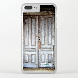 Closed Clear iPhone Case