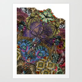 Psychedelic Botanical 8 Art Print