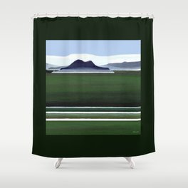 Somes Island - Matiu Shower Curtain
