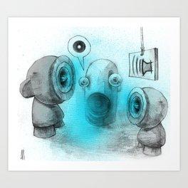 Embrace Dubs  Art Print
