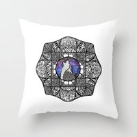 howl Throw Pillows featuring Howl by amyrose