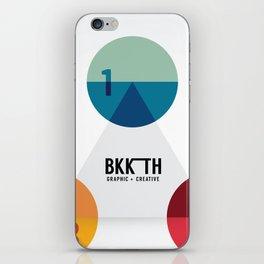 Modern Design Minimal style graphic  iPhone Skin