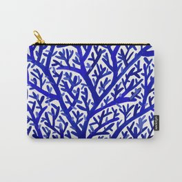 Fan Coral – Navy Carry-All Pouch
