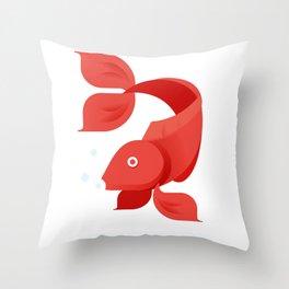 Boris Throw Pillow
