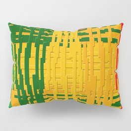Crayon Invaders Pillow Sham