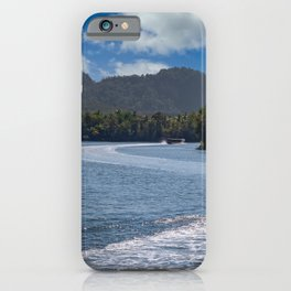 Thailand Boat Vacation iPhone Case