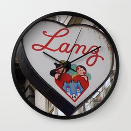lanz Wall Clock