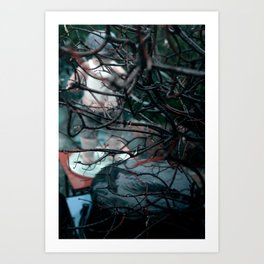 WEATHER / TANGLED Art Print