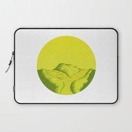Yellow Y Path Laptop Sleeve