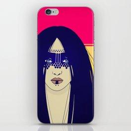 Tribal Lady iPhone Skin