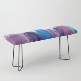 Brushed Watercolor Bench
