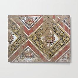 Moche Art Metal Print