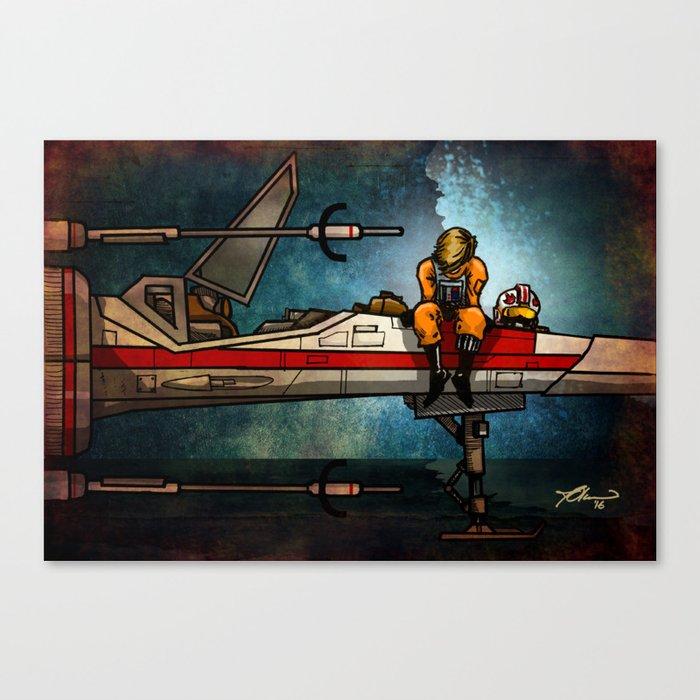 Luke's Lament part 1 - ANH Canvas Print
