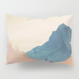 Abstract Mountainscape  Pillow Sham