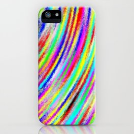 Sway of colors iPhone Case