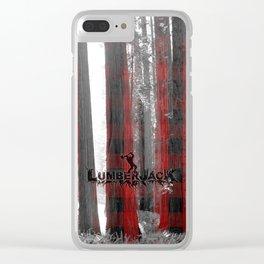 Lumberjack Clear iPhone Case