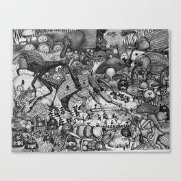 Insectopia Canvas Print
