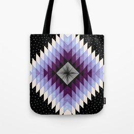 Cosmic Eye - Peach/Plum Tote Bag