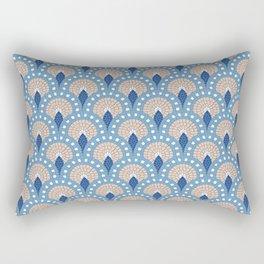 Parisian Tiles  Rectangular Pillow