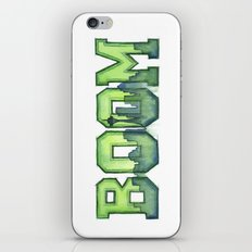 Legion of Boom Seattle 12th Man Art iPhone & iPod Skin