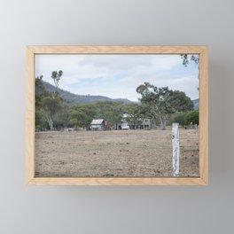 Old Farm House Framed Mini Art Print