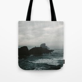 Crashing Waves on Cannon Beach Oregon Tote Bag