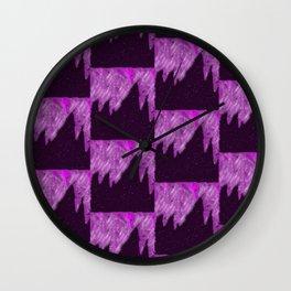 Winter Madness Wall Clock