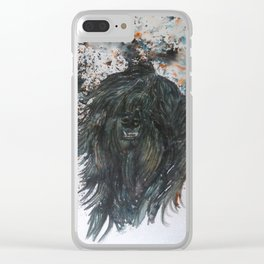Harker The Tibetan Terrier Clear iPhone Case
